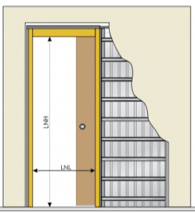 Puerta corredera para pladur trendy corredera with puerta corredera para pladur best cm - Puertas correderas casoneto ...