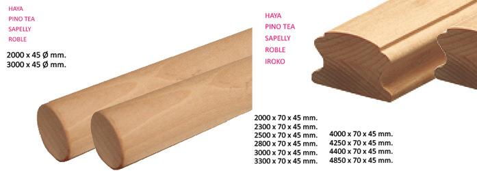 Pasamanos de madera leroy merlin awesome tirador anilla - Precios barandillas de madera ...