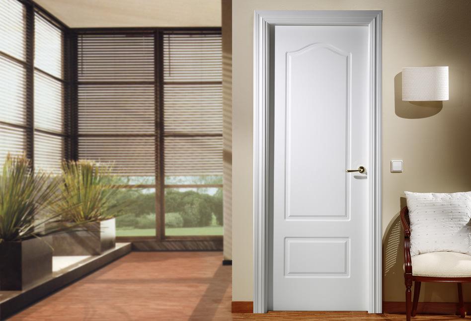 almacen puerta lacada plafonada curva 2072E