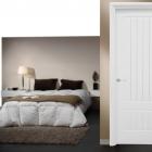 Puertas lacadas blancas lisas en stock Madrid