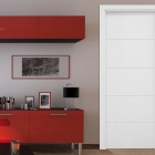 Puertas lacadas blancas lisas en stock Mapi