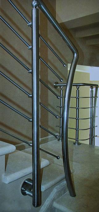 Distribuidor barandillas escaleras acero inox