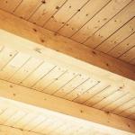 Vigas laminadas encoladas techos frisos