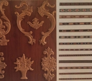 Tallas madera marqueteria muebles