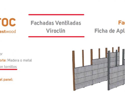 Instalación Fachada Ventilada Viroclin, oculta con Tornillos