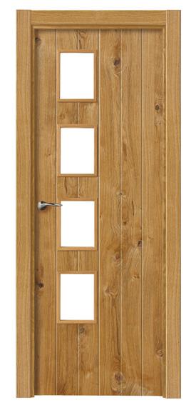 Puerta-Interior-Rustica-Nudos- Proma-4vl