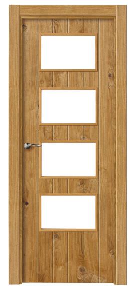 Puerta-Rustica-Interior-Nudos-4V- Proma