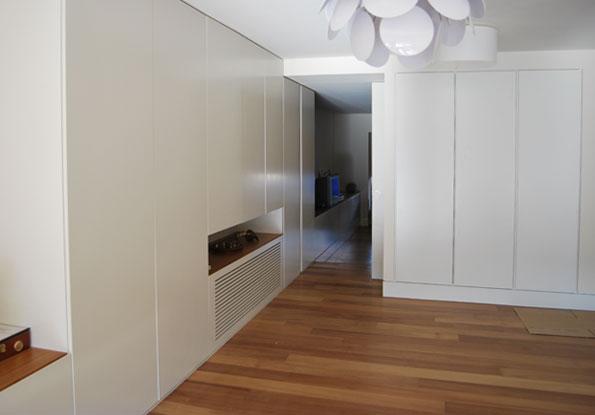 Frente de armario y mueble lacado