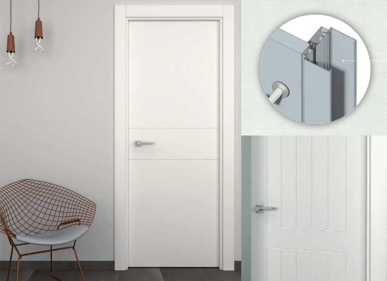 Distribuidor Madrid puertas aluminio blancas
