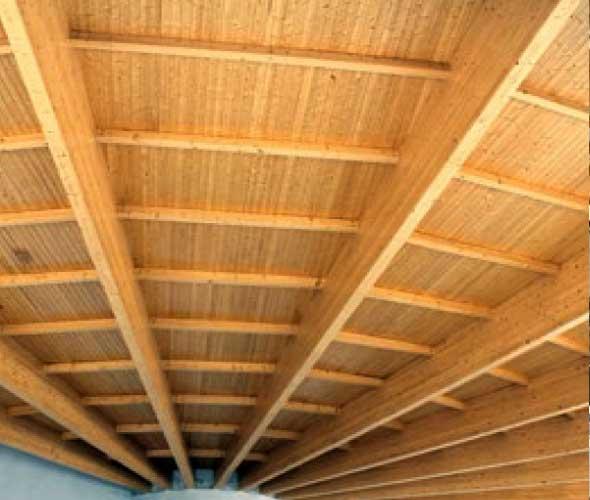 Cerchas madera hotel