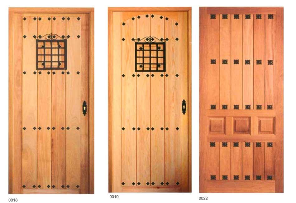portón rústico madera almacén