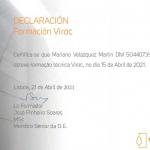 Viroc instaladores homologados Mariano